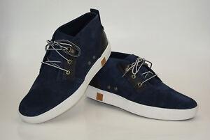 Timberland-Amherst-Chukka-Botas-gr-44-us-10-Zapatillas-Zapatos-Hombre-a17ej