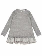Deux par Deux Girls Top with Dolman Sleeves Unicorns are Real Sizes 5-12