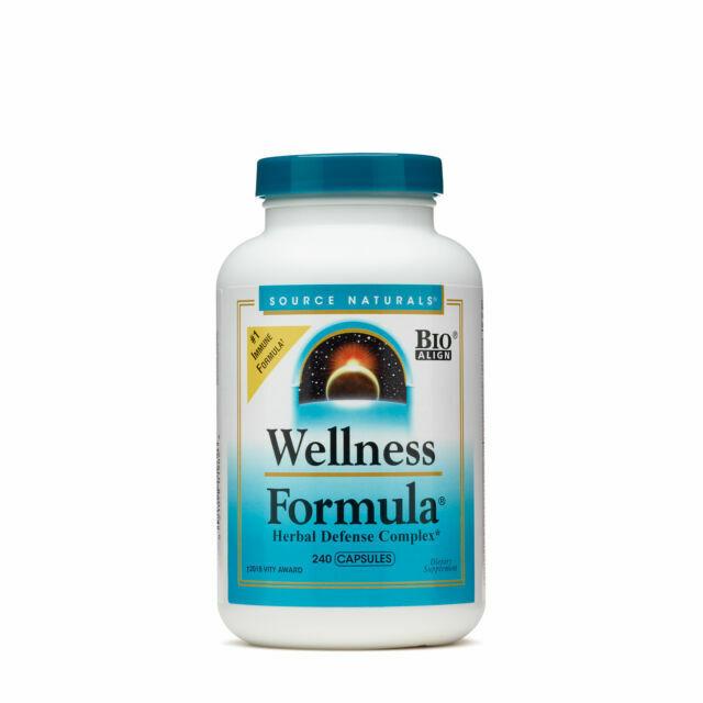 Source Naturals Wellness Formula Herbal Defense Complex 240 Capsules For Sale Online Ebay