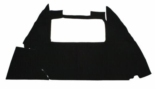 EMPI 4283 54-59 1//2 VW BUG SEDAN /& CONVERTIBLE TRUNK CARPET KIT BLACK 1 PIECE