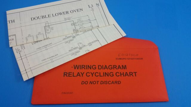 65391 Dacor Oven Wiring Diagram Relay Cycling Chart; C7-1a on