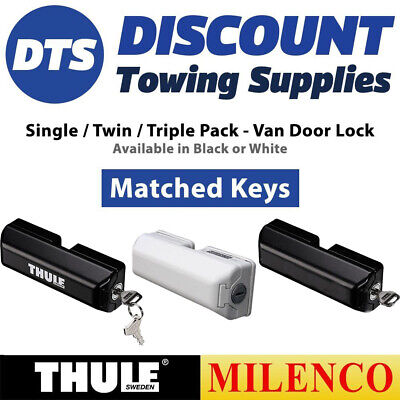 Milenco Thule Arma-D-Lock Security Van Door Lock Mul-T-Lock SINGLE-TWIN-TRIPLE