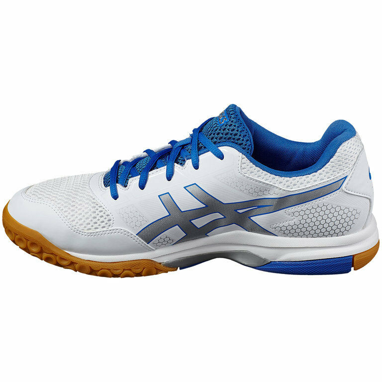 ASICS GEL-ROCKET 8 Men's Badminton shoes Indoor Indoor Indoor White Racquet Racket B706Y-0193 b8a5cf