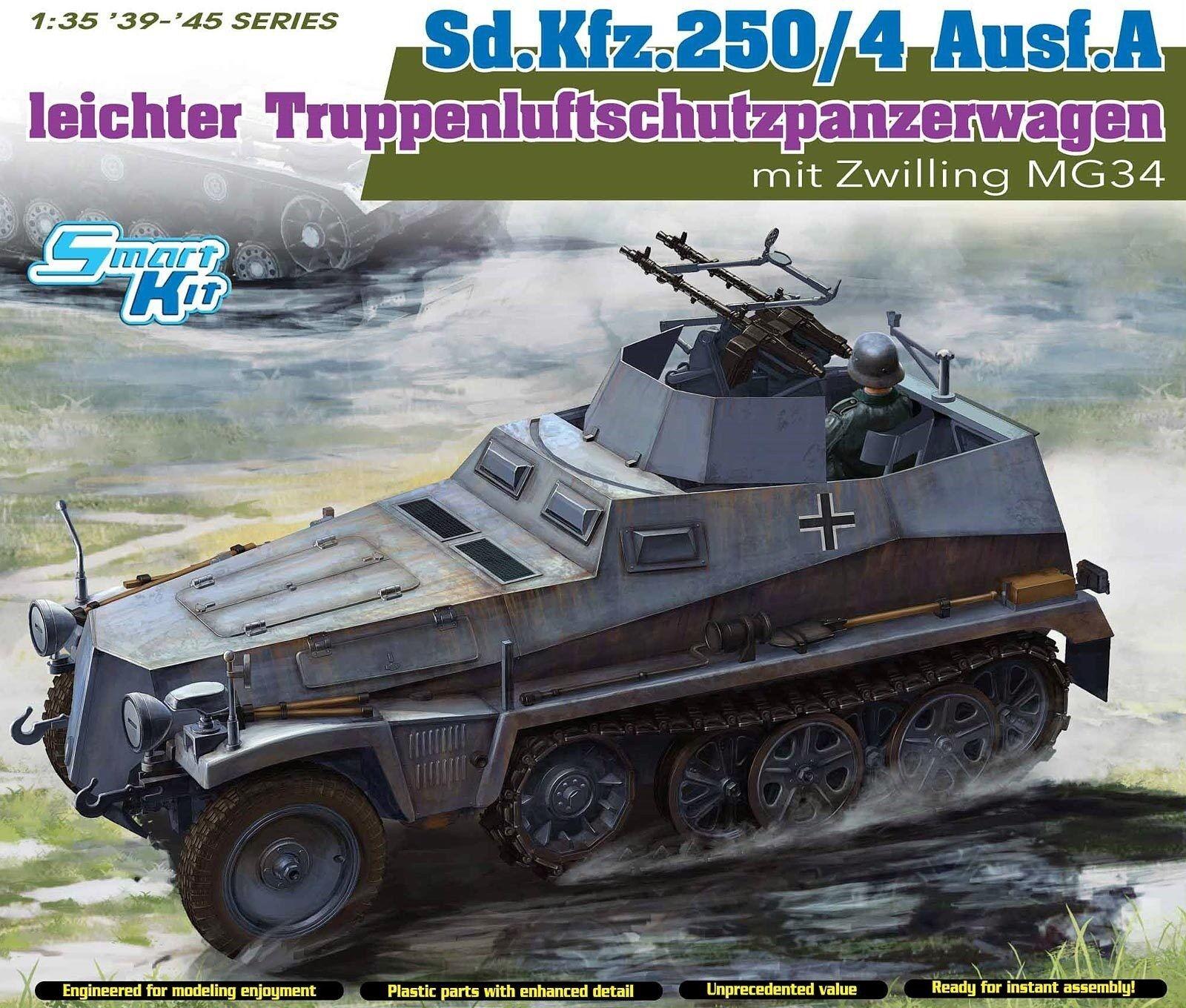 Dragon 1 3 5 6878  Lights truppenluftschutzpanzerwagen sd.kfz.250 4 Ausf A