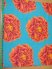 Kaffe Fassett 108 Quilt Backs Full Bloom Red Fabric