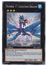 YUGIOH • Drago Leviatano Numero 17 • RARA ALBA EPICA