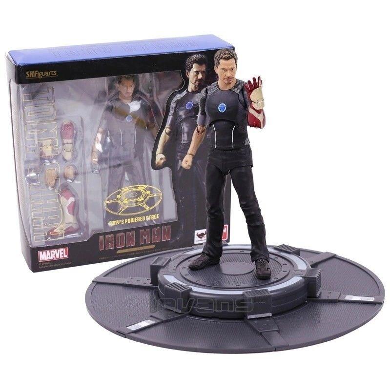 MARVEL - Figura Acción Tony Stark Iron man man man 3, Action Figure Avengers SH figuarts 9ee028