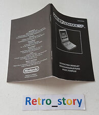 Nintendo Game Boy Advance GBA Mode D'Emploi Notice