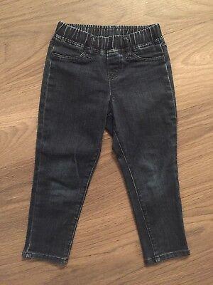 Dedito Qlo Tg. 110/116 S Pantaloni Jeans Blu-top - 5-6 Anni-top Treggings-mostra Il Titolo Originale