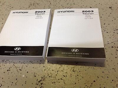 2000 HYUNDAI ELANTRA TIBURON Service Shop Workshop Repair Manual New