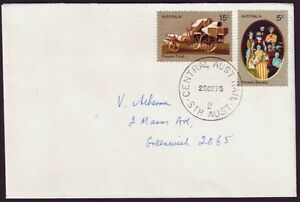 "NORTHERN TERRITORY POSTMARK ""CENTRAL AUSTRALIAN RAILWAY"" CLOSED 1981 (RU3039A)"