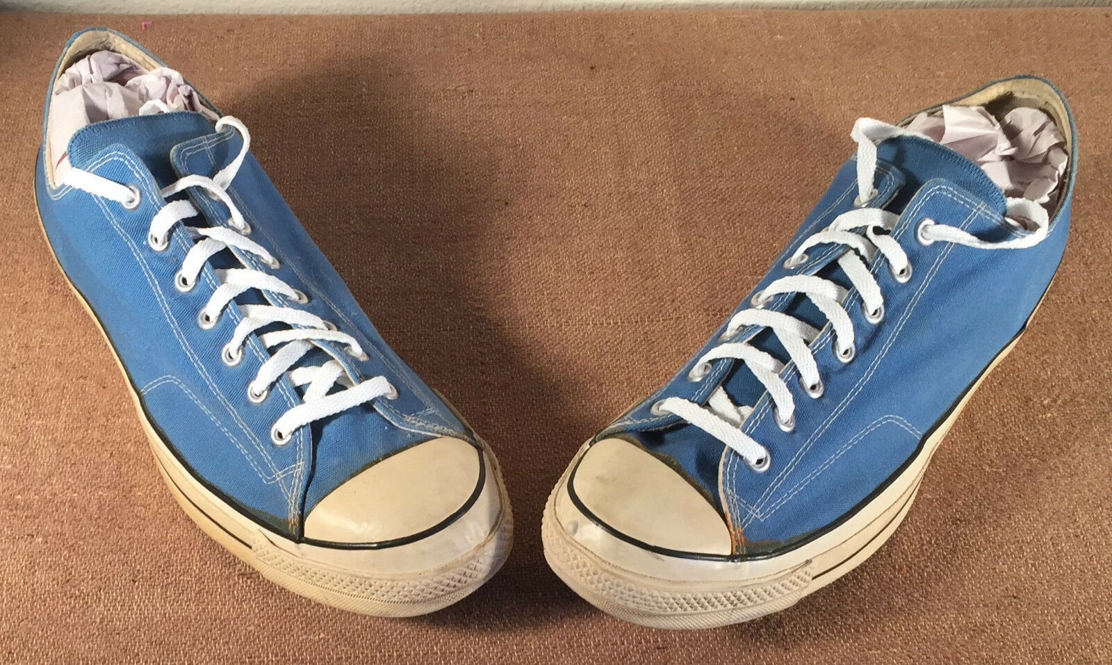 Size 16 Converse Chuck Taylor BLACK LABEL Mens Sneakers shoes blueee USA