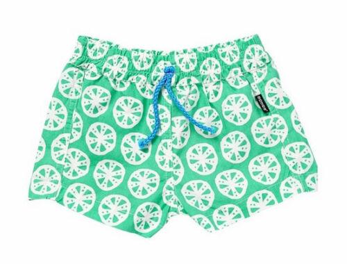 Bonds Unisex Beachies 00 Pink 000 0 1 Green Stretch Waist Crisp Cotton Shorts