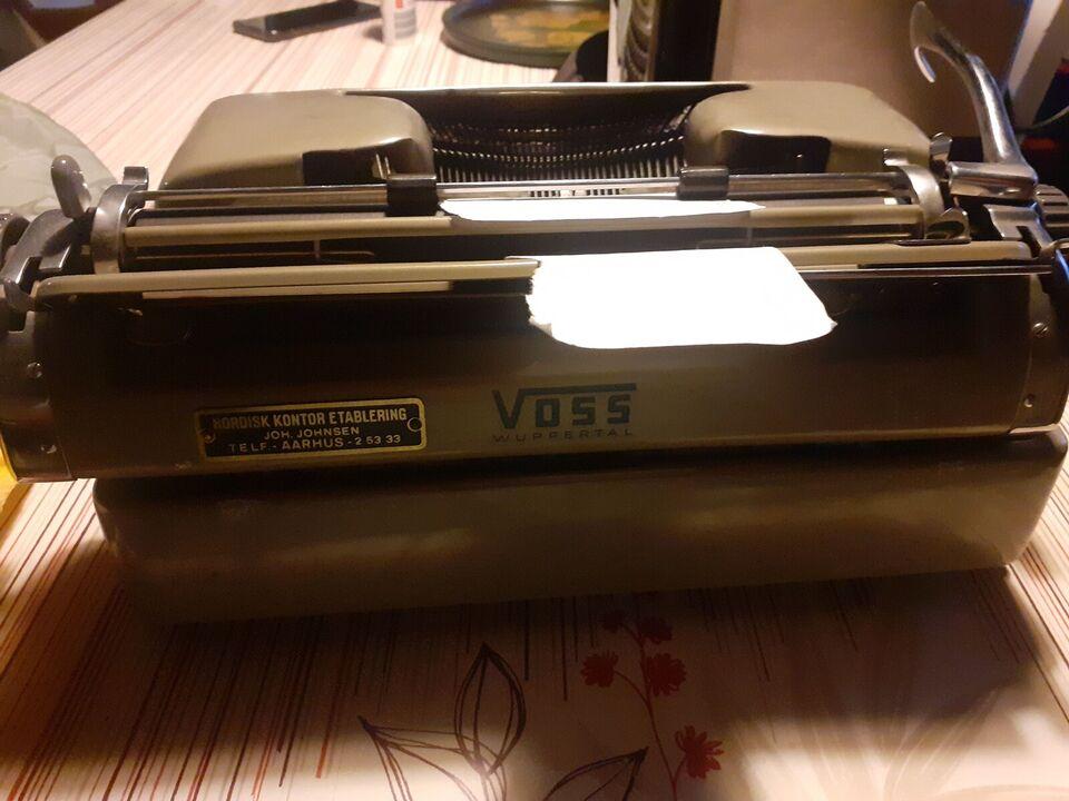 Antik Voss skrivemaskine