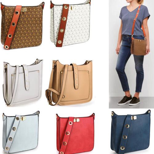 Women/'s Fancy Strap Cross Body Messenger Bag Faux Leather Bag For Women Holiday
