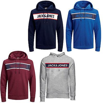 Lieto Decifrare Pogo stick jump  JACK & JONES Core Felpa con Cappuccio Jcothing Uomo Stampa Logo Coulisse  L/S | eBay