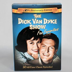 The Dick Van Dyke Show 50th Anniversary Boxed DVD Set 20 Episodes 5 Discs
