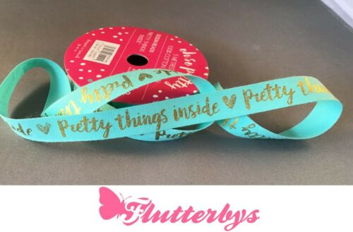 Quality 100/% Cotton Ribbon ..5 Metre Roll 15mm wide various styles available.