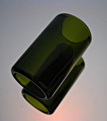 Real BottleNeck Ring Slide Hand Polished Best in US Cigar Box Guitar Mandolin