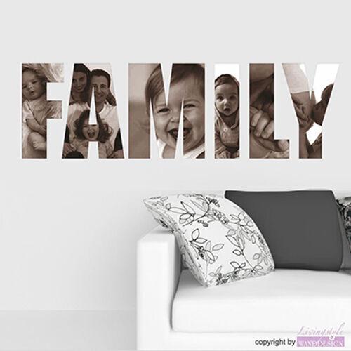 Pegatina Parojo Familia Imágenes Veces Diferente con Propio Fotos Adhesivo de
