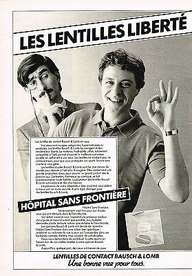 Publicite Advertising 034 1983 Hopital Sans Frontieres Online Shop Other Breweriana