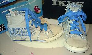 chaussures-baskets-en-toile-garcon-pointure-29-IKKS