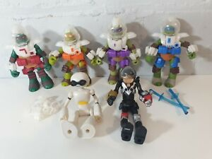 TMNT-Teenage-Mutant-Ninja-Turtle-Dimensione-X-Figure-Bundle-SPACE-x6