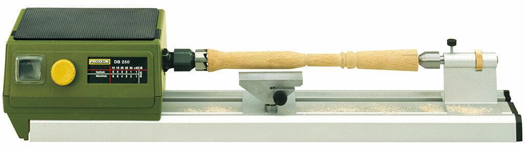 Proxxon Arte 27020 Db250 Micro Mini Torno 220v para Trabajos de Madera