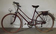 ancien vélo randonneuse cyclotourisme CALLA dérailleur HURET phare dynamo RADIOS