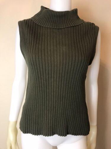 Women's Vintage 1990's Pierre Cardin Olive Green S