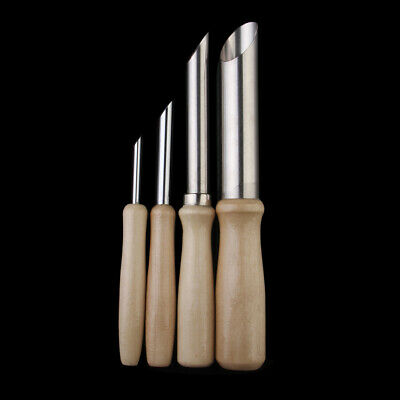 SET 4 ROUND HOLE CUTTERS POTTERY CLAY CERAMIC TOOLS 4mm 8mm 12mm 20mm RSET-POT13