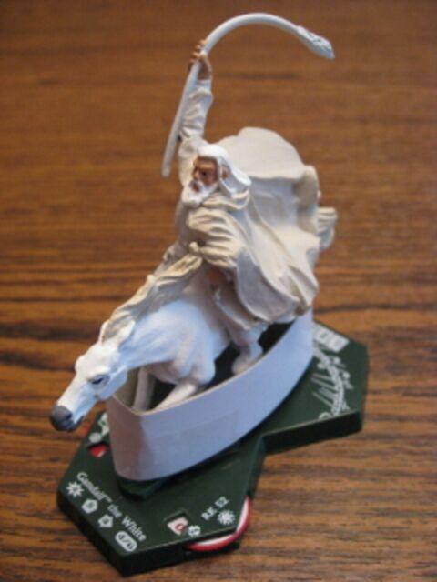 "LOTR TMG Combat Hex TT 055 Gandalf the White Mounted /""RARE/"""