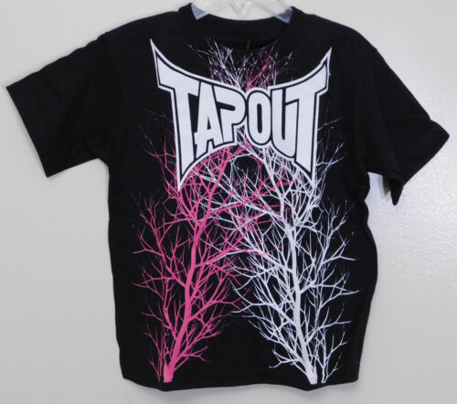 Tapout Black Toddler Boy/'s Short Sleeve Crew Neck T-Shirt 2T /& 4T