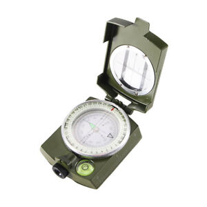 Professional Pocket Military Army Geology Compass for Outdoor Hiking Camping USA