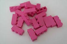 50 Lego Bausteine 1x3 dunkelpink NEU Grundsteine Basic Steine 3622