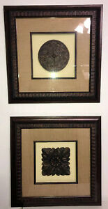 Framed Artwork 2 - 17 X 17 Lot