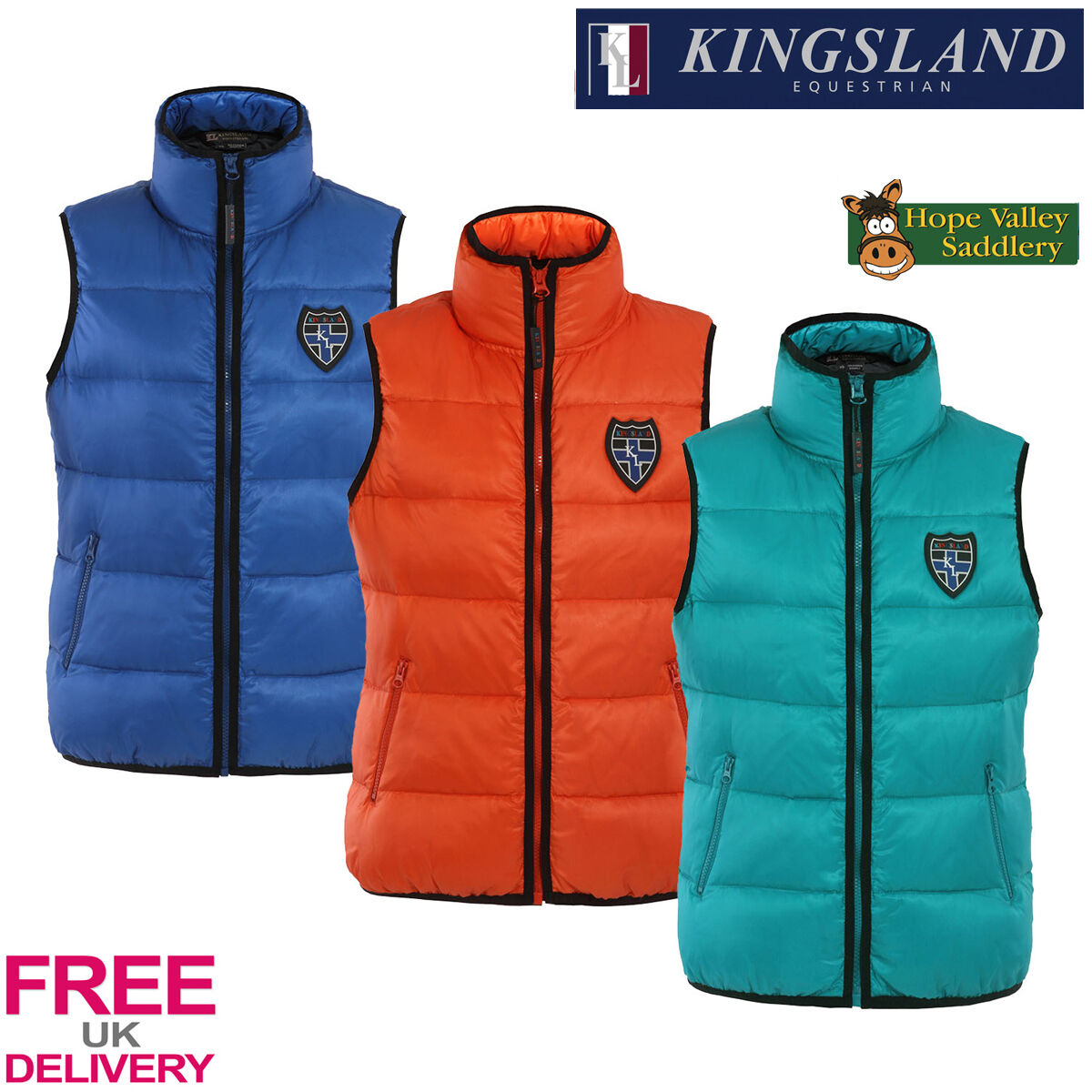 Kingsland Zoe Unisex Gilet (141-OW-309) - Sale FREE UK Shipping