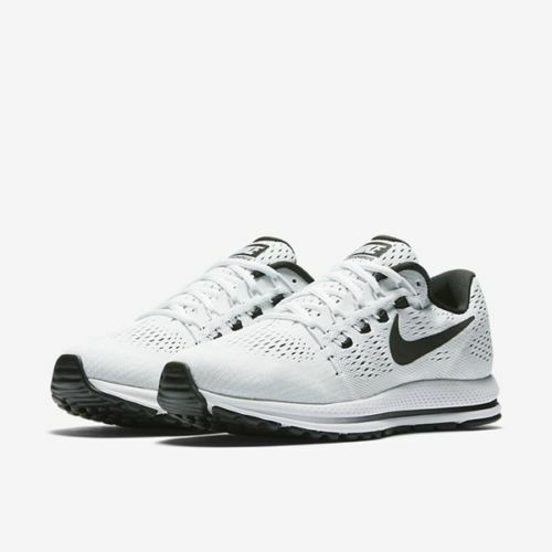f44a4374557d Nike Air Zoom Vomero 12 Mens Running Shoes 11 White Black for sale online