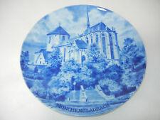Kaiser porcelana plato ciudades plato Hans liska motivo Mönchengladbach