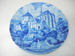 Kaiser-Porzellanteller-Stadteteller-Hans-Liska-Motiv-Monchengladbach