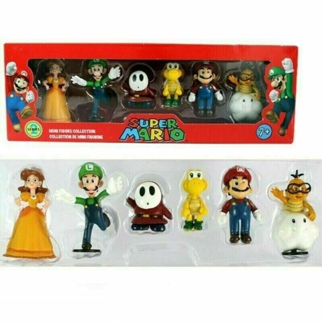 ++ Mario KART 8 Pull Schiene serie 2 Set completo di 5 Bowser Rospo Donkey Kong Peach