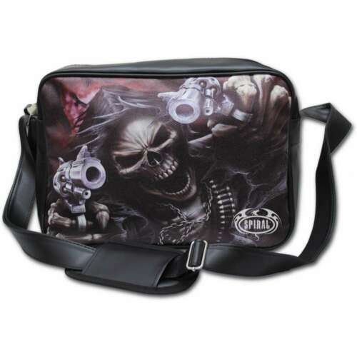 Bag Assassin metal Cuero Direct Spiral Pu Body Zipped dragon rock Cross nWS1S