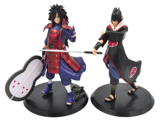 Naruto Shippuden Sammel Figuren Set Sasuke & Madara Uchiha Figur Anime