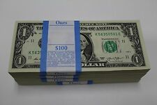 2013 Sequential Collectible Pack of 100 New Uncirculated $ 1 One Dollar Bills