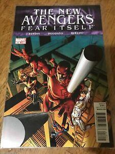 THE NEW AVENGERS FEAR ITSELF COMIC BOOK #16 Marvel 2011 Bendis Deodato Beredo