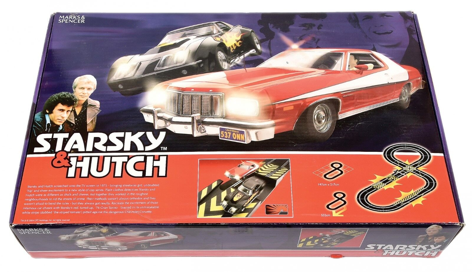 Marks & Spencer Starsky & Hutch slot racing set