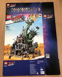 LEGO 70840 MOVIE 2 Willkommen in Apokalypstadt! Leerkarton/Box/Ovp NEU