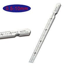 Sheet Metal Gauge Thickness Gage Measuring Tool Wire Gauge Stainless Steel Usa