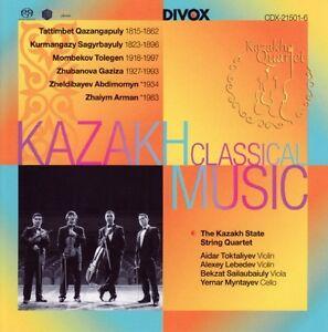 The-KAZAKH-STATE-STRING-QUARTET-Kazakh-Classical-Music-1-CD-NEUF