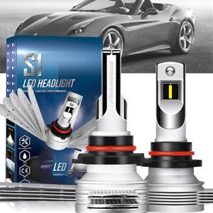 72W High Power COB LED Headlight High//Low Beams Fit  6000K White Bulb 2Pcs